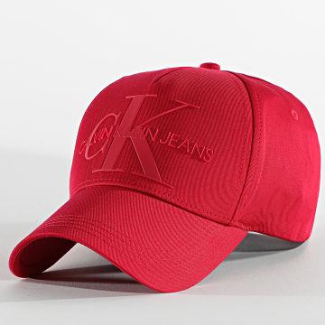 Calvin Klein - Casquette Femme Monogram 7768 Rouge