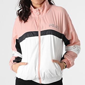 Fila - Coupe-Vent Femme Jada 683287 Blanc Rose