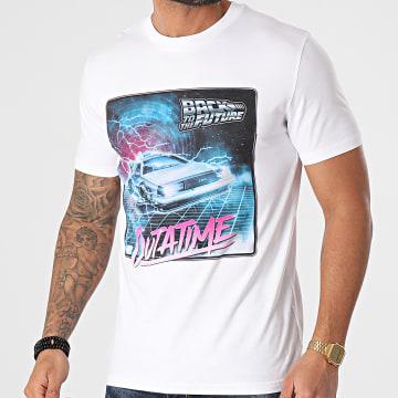 Back To The Future - Tee Shirt Outatime Blanc