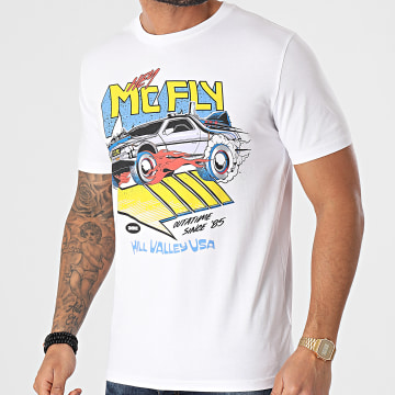 Back To The Future - Tee Shirt McFly Blanc