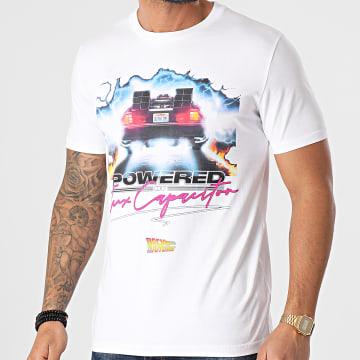 Back To The Future - Tee Shirt Powered Blanc