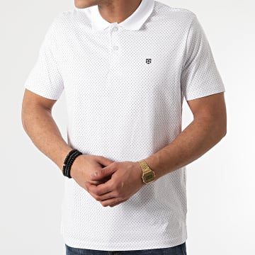 Jack And Jones - Polo Manches Courtes Summer Blanc