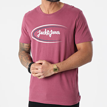 Jack And Jones - Tee Shirt Riley Violet