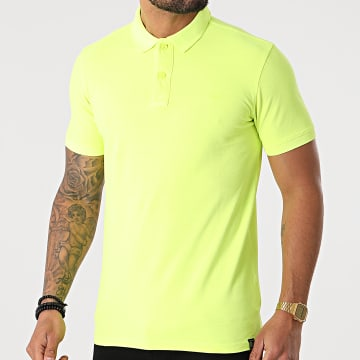 Petrol Industries - Polo Manches Courtes 907 Jaune Fluo