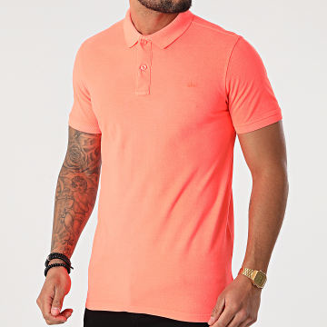 Petrol Industries - Polo Manches Courtes 907 Orange Fluo