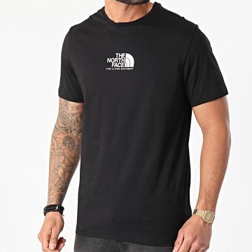 The North Face - Tee Shirt Fine Alpine Equipment 3 A4SZUJK3 Noir