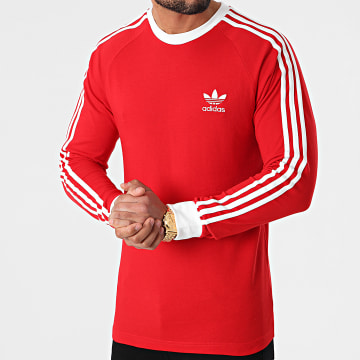 Adidas Originals - Tee Shirt Manches Longues GN3489 Rouge