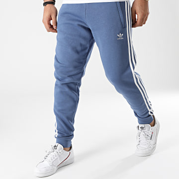 Adidas Originals - Pantalon Jogging A Bandes 3 Stripes GN3528 Bleu Clair