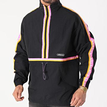 Adidas Originals - Veste Outdoor A Bandes Taped GN3896 Noir