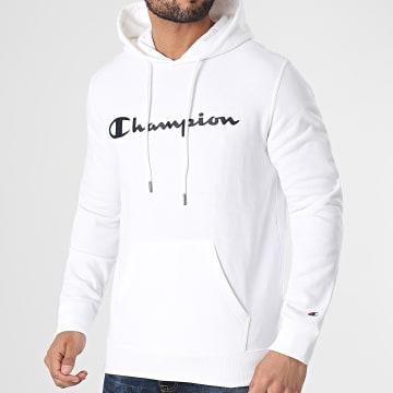 Champion - Sweat Capuche 214138 Ecru