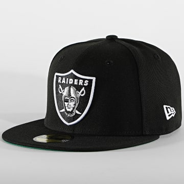 New Era - Casquette Fitted 59Fifty Retro Sports 60112589 Las Vegas Raiders Noir