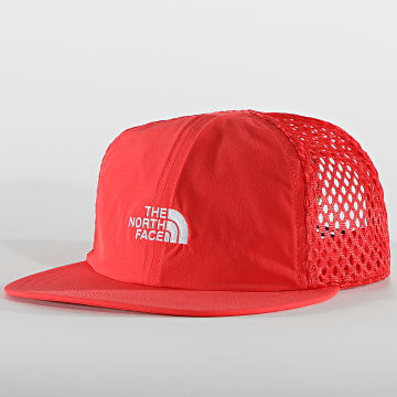 The North Face - Casquette Trucker Runner Mesh Rouge