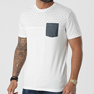 Tom Tailor - Tee Shirt Poche 1024922-XX-10 Ecru