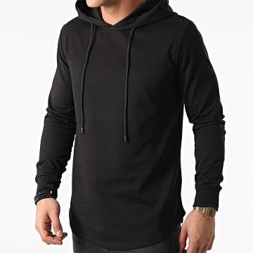 Uniplay - Sweat Capuche Oversize UY576 Noir