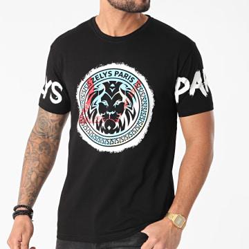 Zelys Paris - Tee Shirt Lyon Noir