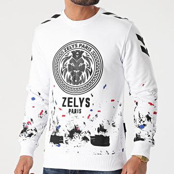 Zelys Paris - Sweat Crewneck Tek Blanc