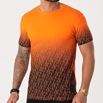 Zelys Paris - Tee Shirt Cristiano Orange