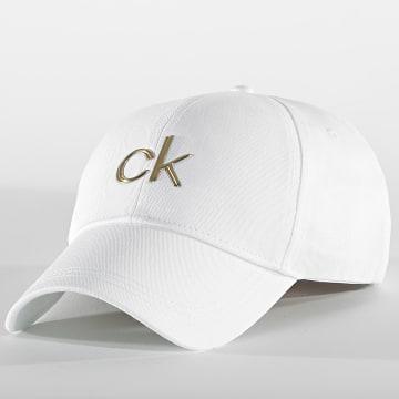 Calvin Klein - Casquette Femme BB Cap 7986 Blanc