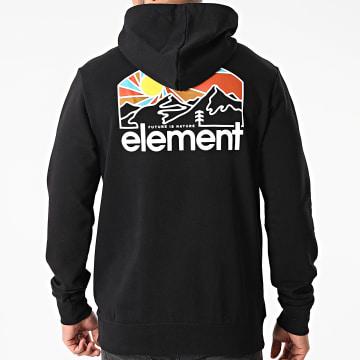 Element - Sweat Capuche Sunnett Noir
