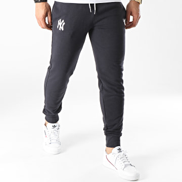 New Era - Pantalon Jogging New York Yankees Logo 12740953 Bleu Marine
