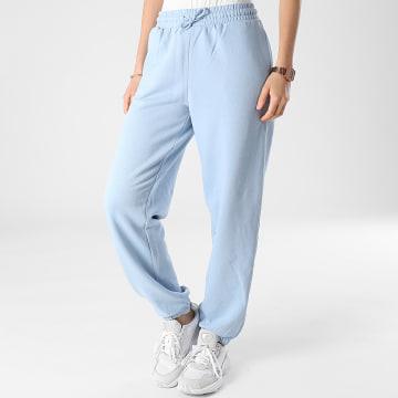 Only - Pantalon Jogging Femme Wanted Bleu Clair
