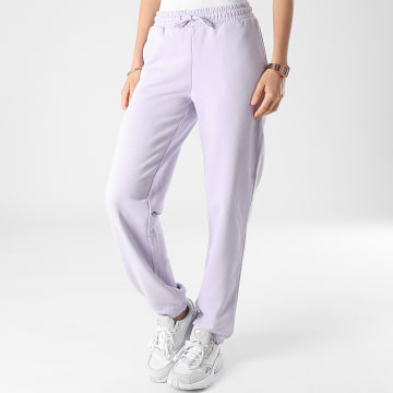 Only - Pantalon Jogging Femme Wanted Lila