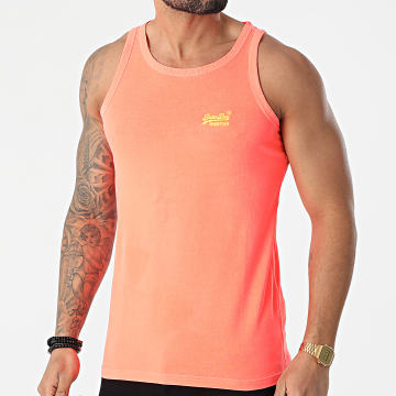 Superdry - Débardeur Orange Label Neon Lite M6010024A Orange Fluo