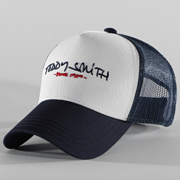 Teddy Smith - Casquette Trucker Since Bleu Marine