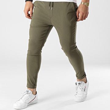 Uniplay - Pantalon Chino T3597 Vert Kaki