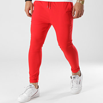 Uniplay - Pantalon Chino Slim T3597 Rouge