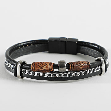 Black Needle - Bracelet BBN-408 Noir