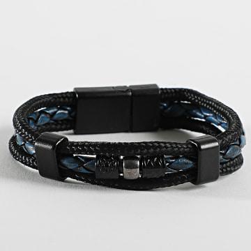 Black Needle - Bracelet BBN-412 Noir Bleu