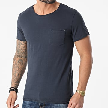 Blend - Tee Shirt Poche 20709766 Bleu Marine