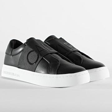 Calvin Klein - Baskets Femme Cupsole Slip-On 0160 Black