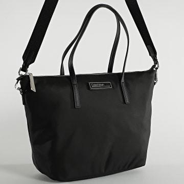 Calvin Klein - Sac A Main Femme Shopper Zip 7022 Noir