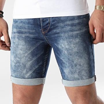 Classic Series - Short Jean H1324Y61881K Bleu Denim