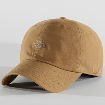 The North Face - Casquette Washed Norm Camel