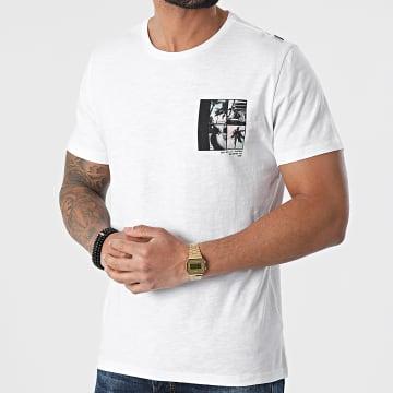 Blend - Tee Shirt 20712078 Blanc