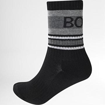BOSS - Paire De Chaussettes QS Rib 50442795 Noir