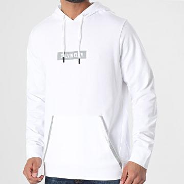Calvin Klein - Sweat Capuche PW GMS1W361 Blanc Réfléchissant