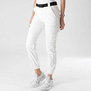 Girls Outfit - Jogger Pant Femme C9061 Ecru