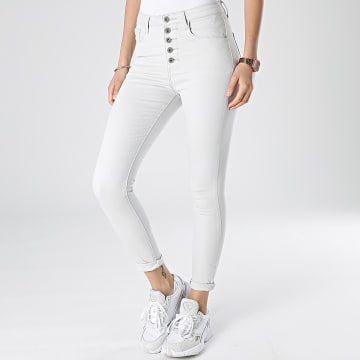 Girls Outfit - Jean Skinny Femme DZ359 Gris Clair
