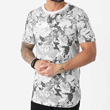 Jack And Jones - Tee Shirt BO Gris