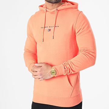 Tommy Hilfiger - Sweat Capuche Essential Tommy 7382 Orange