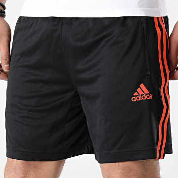 Adidas Performance - Short Jogging A Bandes 3 Stripes GM5396 Noir