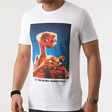 E.T. L'Extraterrestre - Tee Shirt Portrait Blanc