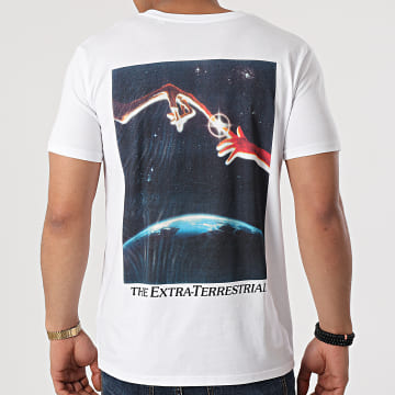 E.T. L'Extraterrestre - Tee Shirt Fingers Blanc
