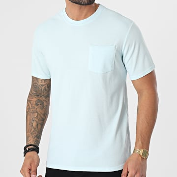 MTX - Tee Shirt Poche P016 Bleu Clair