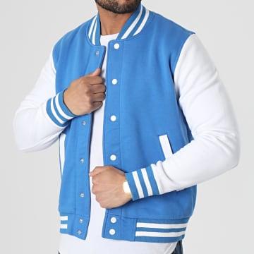 MTX - Veste Teddy 497 Bleu Blanc