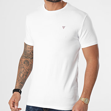 Guess - Tee Shirt U1GM00-K6YW1 Blanc